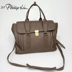 3.1 Phillip Lim Pashli Large Leather Satchel Bag